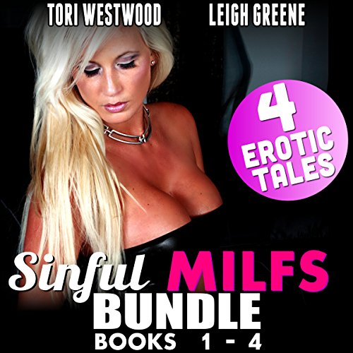 Sinful MILFs Bundle 1: Books 1 - 4 audiobook cover art