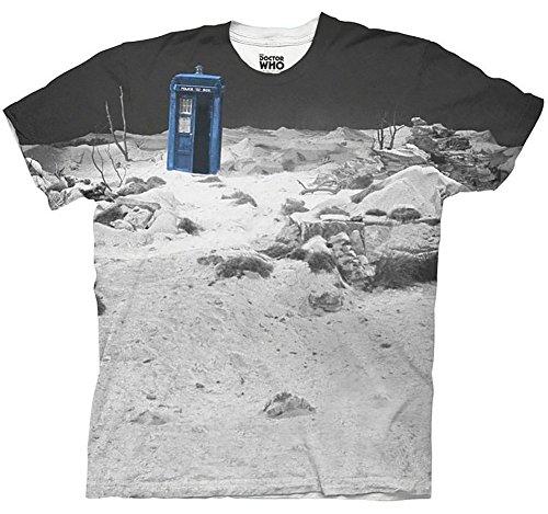 Doctor Who TARDIS Prehistoric Earth T-shirt