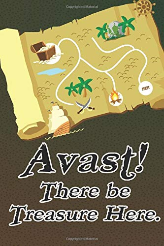 Avast! There Be Treasure Here.: WTF is my password internet, login logbook. Now in Large Print, Treasure Map