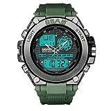 DAYLIN Digital Reloj Deportivo, Militar al Aire Libre Reloj para Hombres Resistente Al Agua LED Luz de Fondo Relojes Electrónicos 30m Impermeable Reloj Pulsera Actividad Hombre Cronómetro Alarm