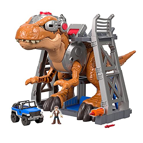 Fisher-Price Imaginext Jurassic World, T-Rex Dinosaur [Amazon Exclusive]