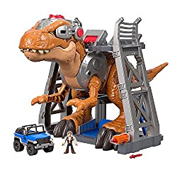 1. Fisher-Price Imaginext Jurassic World T-Rex Dinosaur