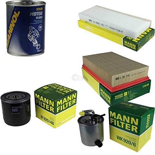 Original MANN-Filter Inspektionspaket Set SCT Motor Flush Motorspülung 11590422