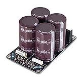 Nobsound® 4 x 10000uF/100V Japón Ruby Capacitor amplificador Hi-end Power Supply ensamblado placa de audio HiFi DIY