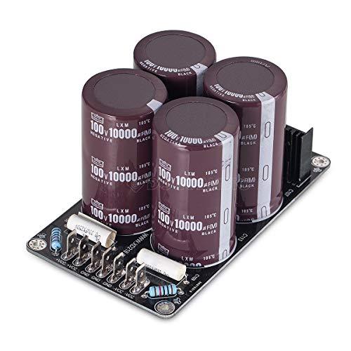 Nobsound® 4 x 10000uF/100V Japón Ruby Capacitor amplificador Hi-end Power Supply ensamblado...