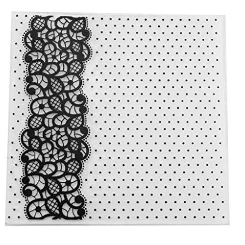 Papel para Tarjetas Transparente Plantilla para repujar Xurgm Plantilla para repujar para /álbum de Fotos DIY