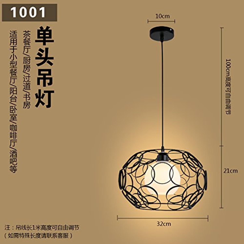Luckyfree Kreative Moderne Mode Anhnger Leuchten Deckenleuchte Kronleuchter Schlafzimmer Wohnzimmer Küche, Turn schwarz 12 W führte warmes Licht