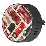 Eslifey London Gran Bretagna Icona Set Diffusore Auto Deodorante Deodorante Vent Clip per Auto Ufficio Casa Bagno Casa Ocean Breeze
