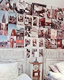 Flamingueo Fotos Pared Decoracion - 100 Fotos Pared, Decoracion Habitacion Aesthetic, Posters para Pared, Decoracion Habitacion Adolescente, Vinilos Decorativos, Decoracion Hogar (New York Chic)