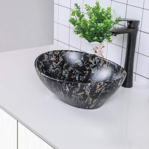 Vessel Sink Black - Sarlai 16