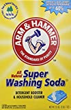 Arm & Hammer Super Washing Soda, 55 oz (Pack of 2)
