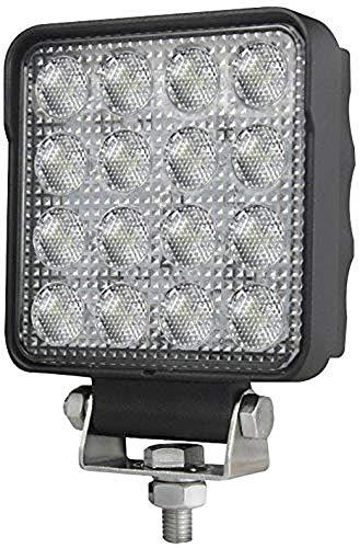 HELLA 1GA 357 106-022 Arbeitsscheinwerfer - Valuefit S2500 - LED - 12V/24V - 2500lm - Anbau/Bügelbefestigung - hängend/stehend - Nahfeldausleuchtung - Kabel: 800mm