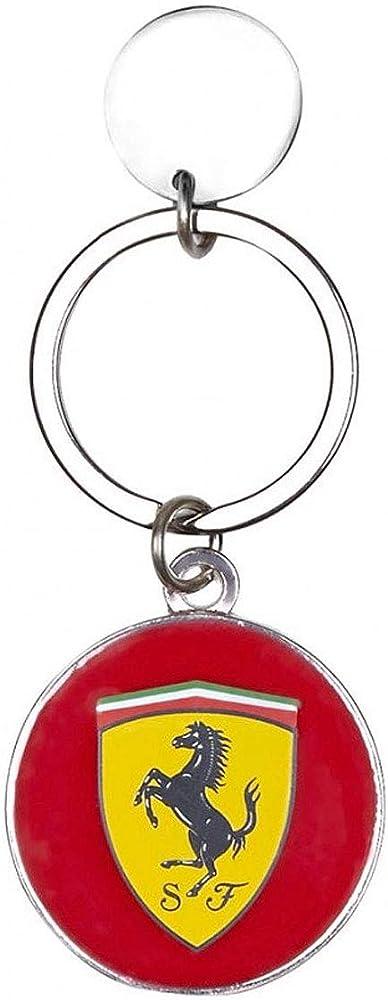 Ferrari portachiavi in metallo roundel 130171002