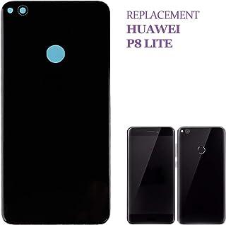Swark - Tapa Trasera para Huawei P8 Lite, Color Negro