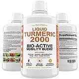 Liquid Turmeric Curcumin 2000mg with BioPerine Premium Joint & Healthy...