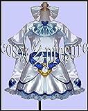 372 【cos-presure】ふたりはプリキュア キュアホワイト 風衣装☆彡コスプレ