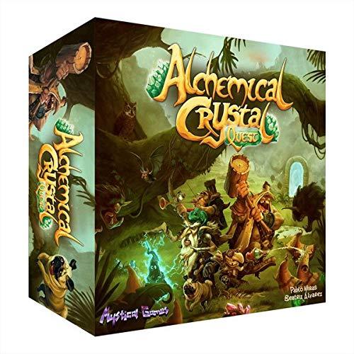 Mystical Games Alchemical Crystal Quest (Castellano) Juego DE Mesa