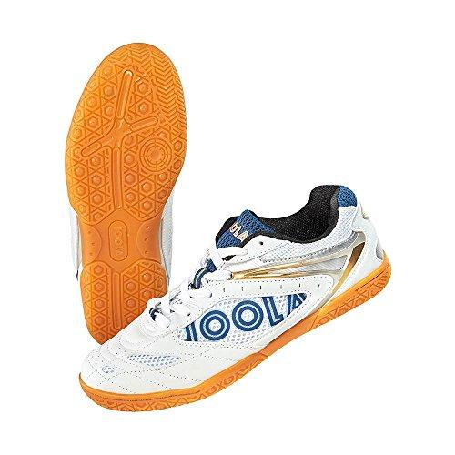 JOOLA Schuh Court, weiß/blau, 39
