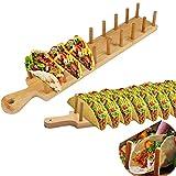 Soporte para Tacos, Bandeja para Tacos, Soporte Tacos Mexicanos, Bandejas para Tacos para Duros o Blandos Tacos Mexicanos Burritos Sandwiches