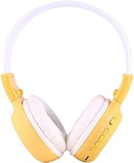 SHUHAN Electronics Digital Media Players BS-N65 Headband Folding Stereo HiFi Wireless Headphone Headset with LCD Screen & TF Card Slot & LED Indicator Light & FM Function(Black) MP3 MP4 Players