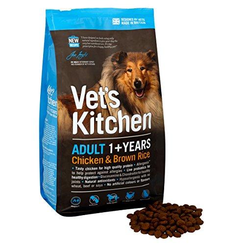 vet's Küche erwachsene Hund komplett Hundefutter Hähnchen & Brauner Reis - 7.5 Kg