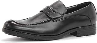 [ジンク] 6006 ビジネスシューズ 革靴 メンズ 本革 日本製 屈曲性 滑りにくい 防滑ソール 軽量 国産 ビジネス 撥水 紳士靴 通勤