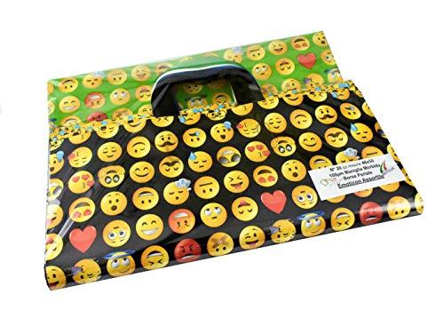 Bolsas de asa suave de varios tipos para embalaje de regalo y transporte de diferentes tamaños y colores (variados, 40 x 50 cm, 20 unidades)