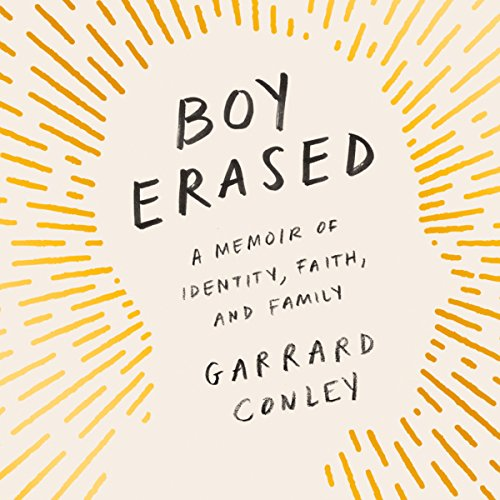 Boy Erased audiobook cover art