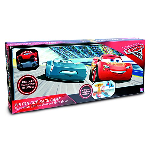 Disney Cars- Cars Pista de Carreras Copa Pistón (Giochi Preziosi CA100105)