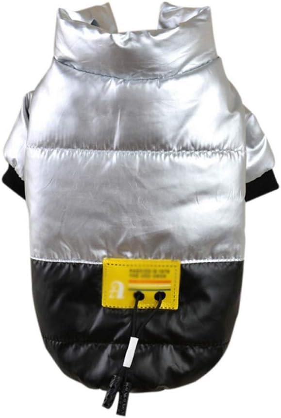 TWDYC Waterproof Dog Clothes Winter Warm Pet Jacket Kansas City Mall Vest Our shop OFFers the best service Coa
