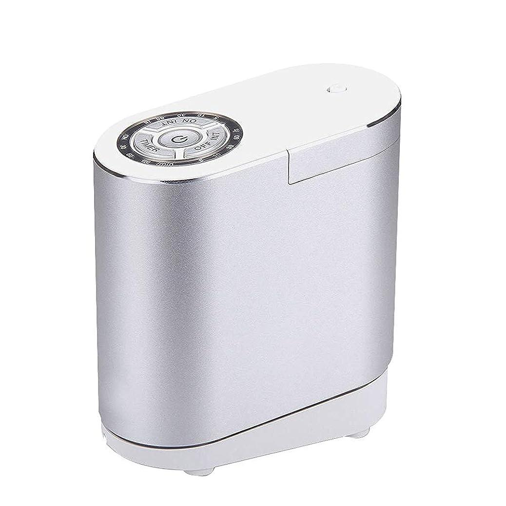 真珠のような系統的うまくいけば精油の拡散器、総本店の寝室部屋のための携帯用超音波拡散器の涼しい霧の加湿器,silver30ML