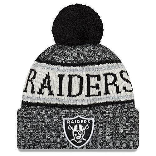 All-Star Cap Sideline Sport Knit Winter Fans Knit Beanie Hat (Raider)