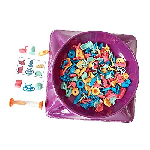 #N/A/a Juguetes de del Tesoro Entrenamiento Pensamiento lógico Padres e Hijos Educación temprana Juego de Fiesta Juguetes Treasure Bowl Time Reloj de