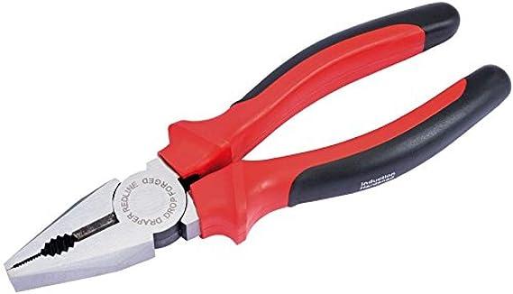 200 /& 250 mm Draper Redline Poignée Souple Clé à molette Set Crescent Type 150