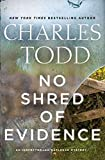 Image of No Shred of Evidence: An Inspector Ian Rutledge Mystery (Inspector Ian Rutledge Mysteries, 18)