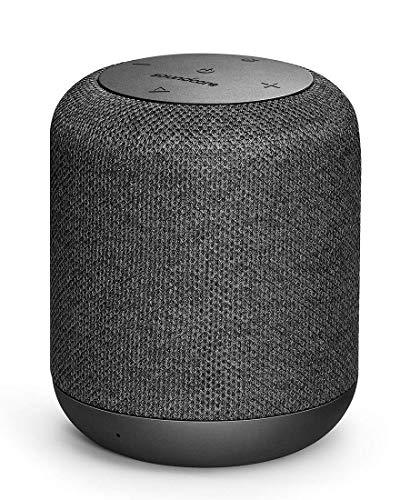 Soundcore Bluetooth Lautsprecher Motion Q Tragbarer 16W Lautsprecher von Anker mit fantastischem 360 grad Sound, BassUp Technologie und IPX7 wasserdichte (Generalüberholt)