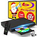 Tojock Blu-Ray DVD Player with Remote Control