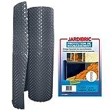 Jardibric - Membrane de fondation 1m x10m protection de soubassement bi-couche en PE-HD à alvéoles - Bicolore extrudé noir et brun - Poids 400 gr/m², épaisseur 520 microns