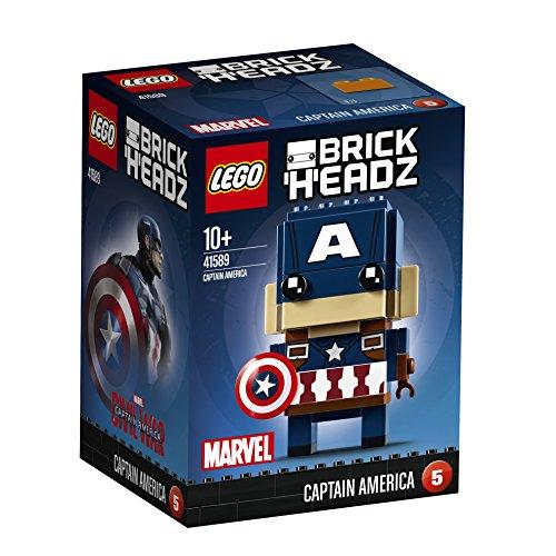 LEGO 41589 Brickheadz Marvel Captain America