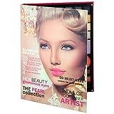 Gloss! Glamour Pink Review Paleta de Maquillaje, 54 Piezas - 194 gr