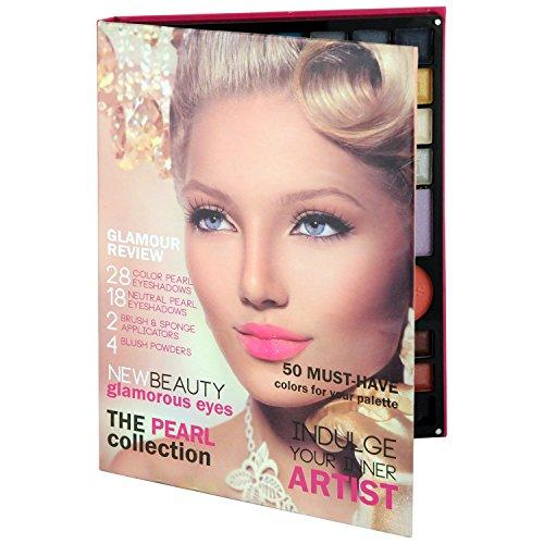 Gloss Palette de Maquillage Glamour Review Rose 54 Pièces, Coffret Cadeau-Coffret Maquillage