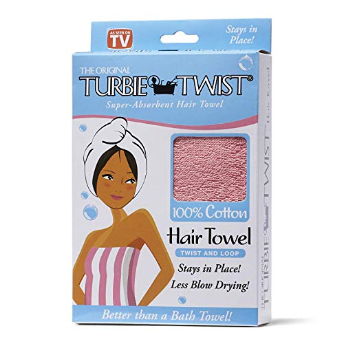 The Original Turbie Twist, Colors may vary