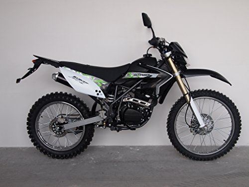 ICS MTX32 Enduro Cross Dirt Bike 250CCM / 4Takt / 20PS Räder 21''/18'' Schwarz Neu Modell Design-Aprillia