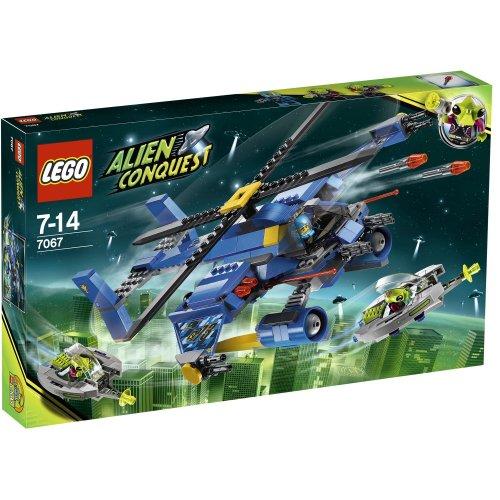 LEGO Alien Conquest Jet-Copter Encounter 375pieza(s) - Juegos de construcción (Multi)