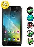 Smartphone Equipment [2er Pack] Panzerglas für Wiko Lenny 2, 9H Echtglas, Bildschirmschutz Panzerfolie Glasfolie Schutzfolie Glas Folie Bildschirm Schutz