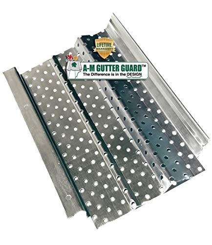 A-M Aluminum Gutter Guard Sample Pack (Includes 5