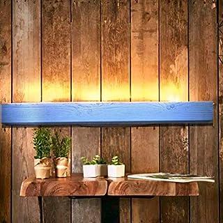 WOOD & STONE Bazar APPLIQUE IN LEGNO DESIGN ESSENTIAL luce scala parete illuminazione arredamento