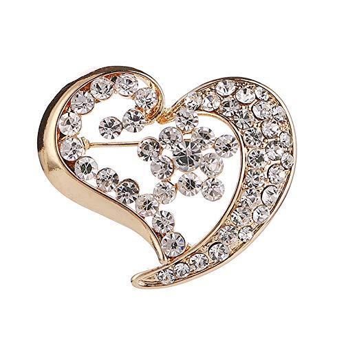 Broches De Bisuteria Broches Moda Broche Broche, De Broche de joyería Broches para Mujeres Vintage Las Mujeres Broche Pin Broche de Diamantes