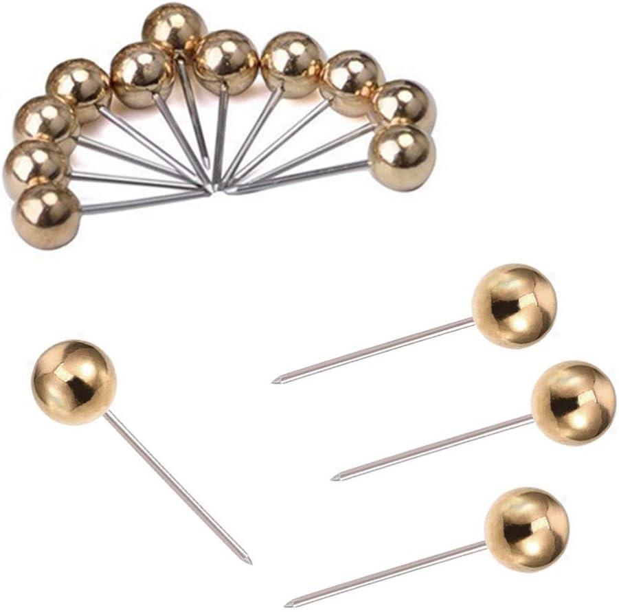 Luxury goods SUPVOX 400PCS Map Push Pins Round Metal San Antonio Mall Marking Head Tacks P