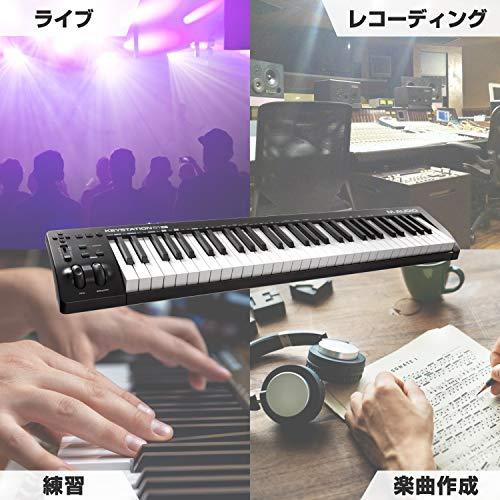 M-AudioUSBMIDIキーボード61鍵ピアノ音源ソフト付属Keystation61III